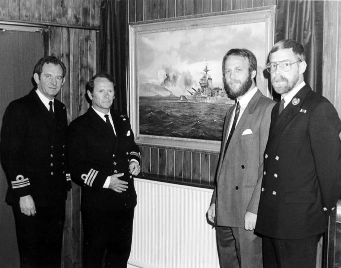 Warspite presentation