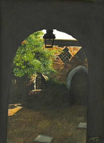 'Bishops Mews 'off Exeter Cathedral'